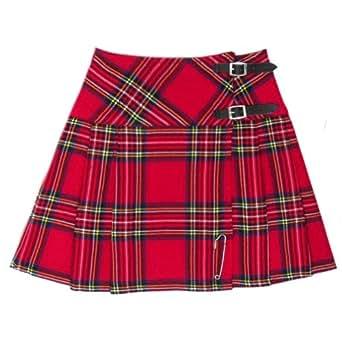 Tartanista Royal Stewart 16.5 inch Tartan/Plaid Mini Kilt Skirt - Size 10