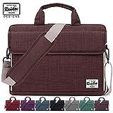 Rawboe 13.3 Zoll Smart Oxford Laptop Computer Tasche Messenger Bag, mit Schultergurt, Griff & Mehreren Taschen für Surface Pro 4, MacBook, Tablet, iPad und Laptop (13.3 Zoll, Royal Braun)