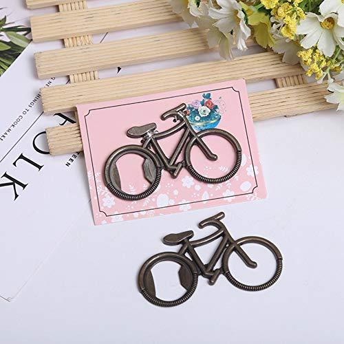 Fahrradform Flaschenöffner Hochzeit Gefälligkeiten Baby Shower Geschenke Geburtstag Party Favors Souvenir Geschenk für Gast (20pcs)