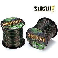 Nailon Sugoi Ambush monofilamento camuflaje 0.35mm 1000MT 12,60kg