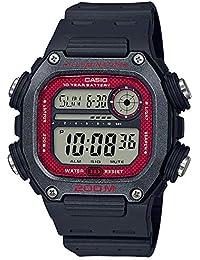 Casio Reloj Digital para de los Hombres de Cuarzo con Correa en Resina DW-291H-1BVEF