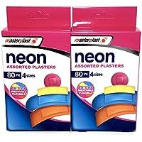 Neon Pflaster-Sortiment–2x 80 Packungen(160Pflaster insgesamt)–4Größen preisvergleich bei billige-tabletten.eu