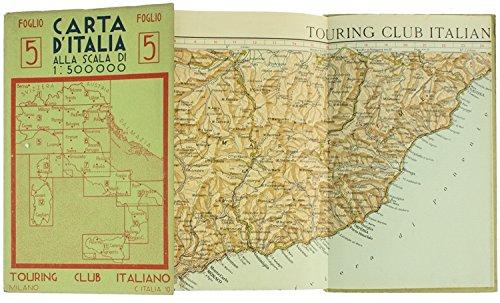 CARTA D'ITALIA alla scala 1:500.000. Foglio 5.