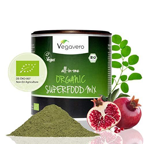 Vegavero BIO Superfood Mix 100g 17 verschiedene BIO Superfoods Vegan - Superfood-mix