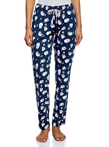 Oodji Ultra Mujer Pantalones Navideños