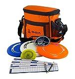 laserlinks Disc Golf Starter Set, SS-O, Orange