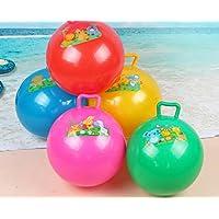Preisvergleich für Baby-lustiges Spielzeug Kinder-Spielzeug-Ball-Baby-Karikatur-Griff-Ball-aufblasbare Dorn-Ball-aufblasbare Ball-Spielwaren