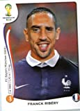 Panini 2014 World Cup Soccer Sticker nº 389 Franck Ribéry Team France