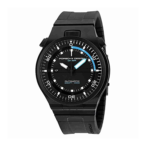 Porsche Design Performance Diver Automatic Black PVD Titanium Mens Watch Calendar 6780.45.43.1218