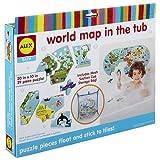 Alex-La Carte du Monde dans Le Bain, 200020-5, Multicolore