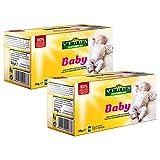 VEDDA, Baby Tee, Tee für Kinder, Fenchel, Kamille, Koriander, Kümmel, Pfefferminze, Kräutertee (Packung mit 2, insgesamt 40 Teebeutel)