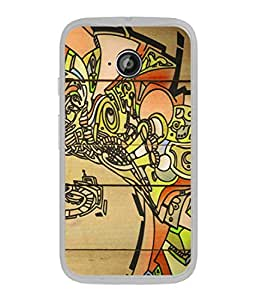 PrintVisa Designer Back Case Cover for Motorola Moto E2 :: Motorola Moto E Dual SIM (2nd Gen) :: Motorola Moto E 2nd Gen 3G XT1506 :: Motorola Moto E 2nd Gen 4G XT1521 (Art Painting In Cool Colours)