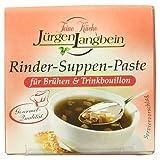 Jürgen Langbein Rinder-Suppen-Paste, 10er Pack (10 x 50 g)