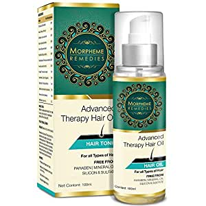 Morpheme Remedies Advanced Therapy Hair Oil For Anti Hair Fall, Hair Loss & Hair Repair - 100Ml