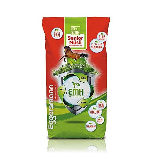 Eggersmann EMH Senior Müsli für Pferde, Futter für alte Pferde und Pferde in regenerativen Phasen, 1-er Pack (1 x 20 kg)