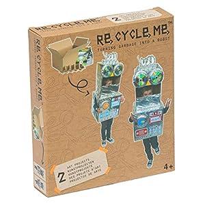 Re Cycle Me-Recycleme defg1140Manualidades Diversión Make a Robot Tema para 2Modelos