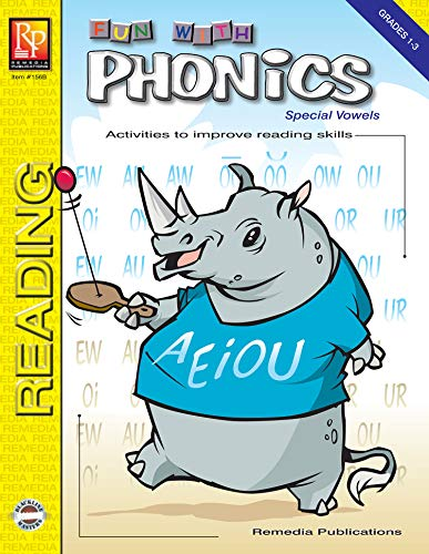 FUN WITH PHONICS: SPECIAL VOWELS (English Edition)