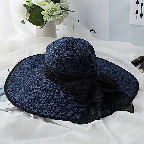 LLZTYM Chapeau De Plage/Fille/Été/Voyage/Vacances/Bord De Mer/Crème Solaire/Uv/Parasol/Chapeau/Tête/Cadeau/Chapeau k