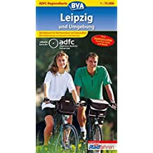 ADFC-Regionalkarte Leipzig und Umgebung mit Tagestouren-Vorschlägen, 1:75.000: Zwischen Saale und Mulde (ADFC-Regionalkarte 1:75000)