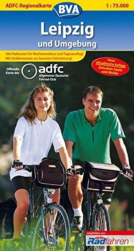 ADFC-Regionalkarte-Leipzig-und-Umgebung-mit-Tagestouren-Vorschlgen-175000-Zwischen-Saale-und-Mulde-ADFC-Regionalkarte-175000