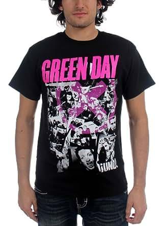 Green Day - - Herren His Story T-Shirt in Schwarz, XX-Large, Black