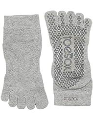 Toesox Full Toe Ankle Calcetines de Yoga, Unisex Adulto