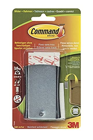 Command 17048 Crochet adhésif pour cadres Modèle XL Charge max 3.6 kg (Import Allemagne)