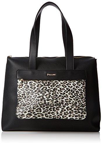 Pollini Bag femme Sacs portés épaule Noir (Nero) 36x11x35 cm (B x H x T)