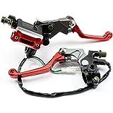 """Aridox (TM) Maître-cylindre de frein pour Honda CR 125 CBR 250 300 CRF 450R 7/8"""" avec levier d'embrayage hydraulique A20"""