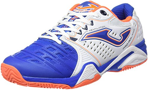Joma T.Pro-Roland 602 Blanco-Royal All Court, Chaussures de Tennis Homme