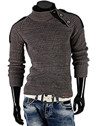 TAZZIO pull-over en tricot pour homme taille s à xXL