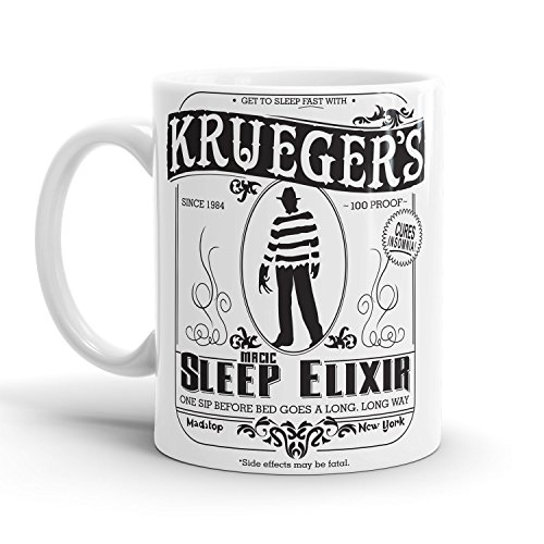 Kostüm Dead Make Nerd Up (Krueger's Sleep Elixir - Tasse /)