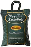 #9: Popular Essentials Classic Sona Masouri Rice, 5kg , with Free Sugar, 500g