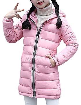 Neutral Niñas Niños Cálido Chaqueta De Ligeras Con Capucha Para Abrigo Acolchado Coat Outwear