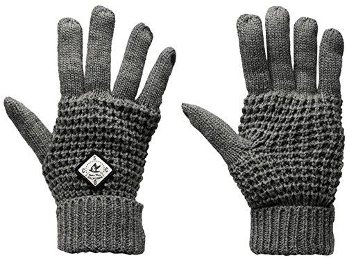 Soul Cal - Ensemble bonnet, écharpe et gants - Femme gris chiné