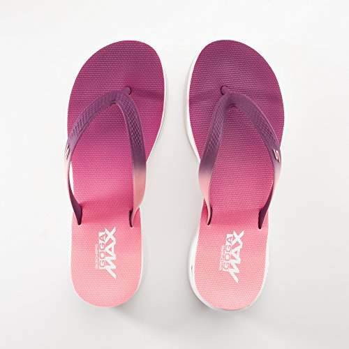 440376ab66b4 Skechers H2 GOGA Splash Sandals Purple Pink UK6 Purple Pink