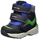 Geox Baby Jungen B New Gulp Boy B ABX C Stiefel, Blau (Navy/Green C4248), 23 EU
