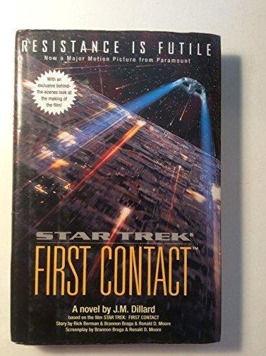Star Trek First Contact (Star Trek The Next Generation) by J. M. Dillard (1996-12-03)
