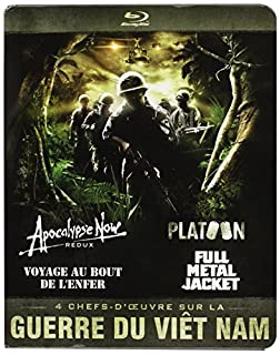 Guerre du Vietnam - Coffret 4 films : Apocalypse Now + Platoon + Full Metal Jacket + Voyage au bout de l'enfer [Blu-ray] (B008P0POCG) | Amazon price tracker / tracking, Amazon price history charts, Amazon price watches, Amazon price drop alerts