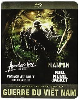 Guerre du Vietnam-Coffret 4 Films : Apocalypse Now + Platoon + Full Metal Jacket + Voyage au Bout de l'enfer [Blu-Ray] (B008P0POCG) | Amazon price tracker / tracking, Amazon price history charts, Amazon price watches, Amazon price drop alerts