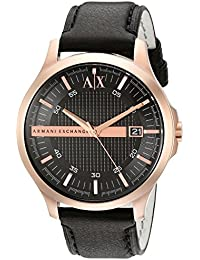 Armani Exchange Black Dial Analogue Men's Watch AX2129