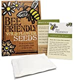 Bee-Friendly Wild Flower Seeds ----------- Beautiful Native Wild Flowers in Many Colours, Great Gardener Gift or Stocking Filler, Over 1000 Seeds Per Packet, RHS Perfect for Pollinators Certified Mix.