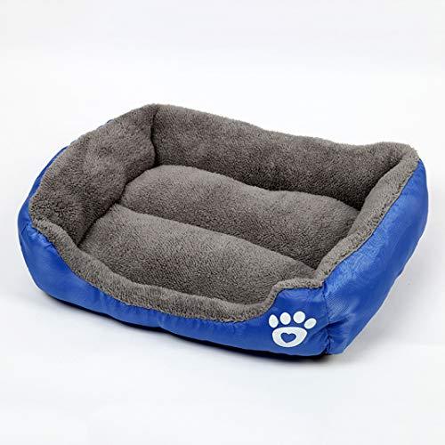 Donad Weiche Hundebetten Baumwolle Warm Four Seasons Universal Schlafen Haustier Schlafmatte rutschfeste Basis Haustiere Plüschdecke -
