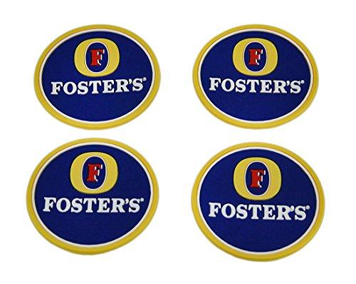 juego-de-4-posavasos-de-goma-fosters-cerveza-mini-bebidas-alfombrillas