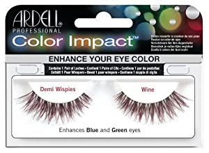 Ardell Color Impact Lash False Eyelashes - Demi Wispies Wine by Ardell