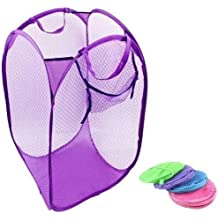 H-Store 2Pc Nylon Mesh Foldable Laundry Washing Clothes Basket Bag
