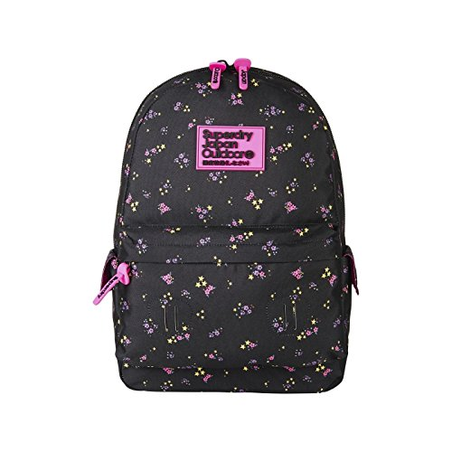 Superdry Print Edition Montana, Damen Rucksackhandtasche, Multicolore (Ditsy Star), 30.0x45.0x13.0 cm (W x H L) (Print Ditsy Top)