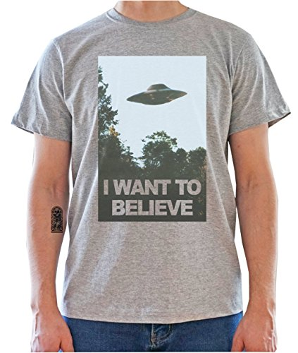The X-Files I Want To Believe Poster Mens T-Shirt