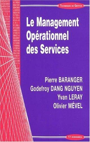 Le Management Opérationnel des Services