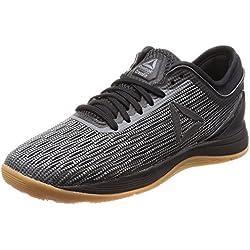 Reebok R Crossfit Nano 8.0, Zapatillas de Deporte para Mujer, Negro (Black/Alloy/Gum 000), 36 EU